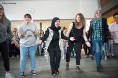 Kulturaustausch: Die internationalen Gäste zeigen landestypischeTänze