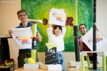 "Geschenke vom PASCH Mobil: Die Initiative ""Schulen: Partnerschaften der Zukunft"" feiert #10jahrepasch"
