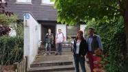 Gastfamilie Schladebusch mit Gastbruder Elias und Toshiyuki aus Japan