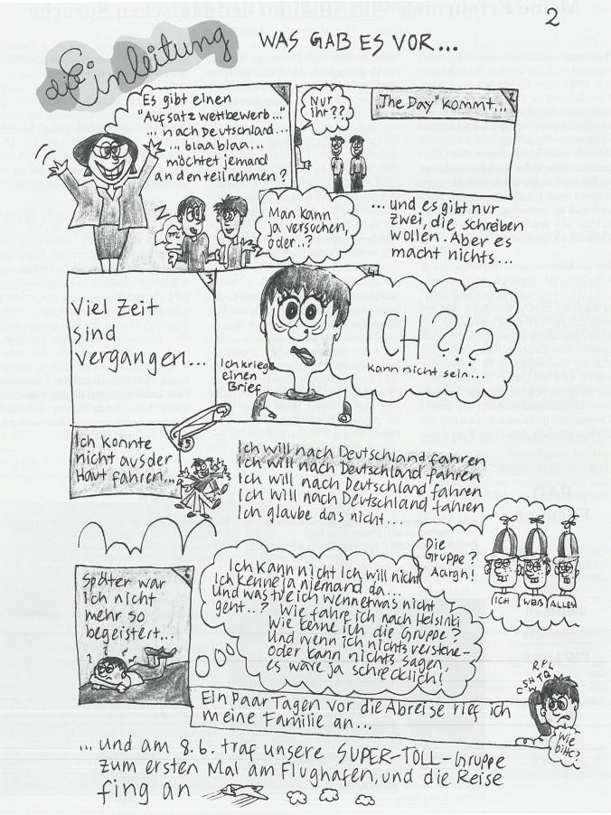 Comic Brücken und Wege