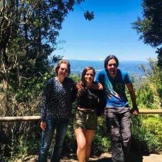 Sabryna, Sofia und Manuel